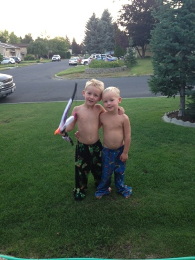 J'onn & Cory- best buds