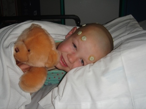 "T with ""John the Bear"" awaiting surgery"