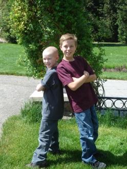 Adrian & T- Best Friends